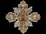 ACR131G - Croce  barocca